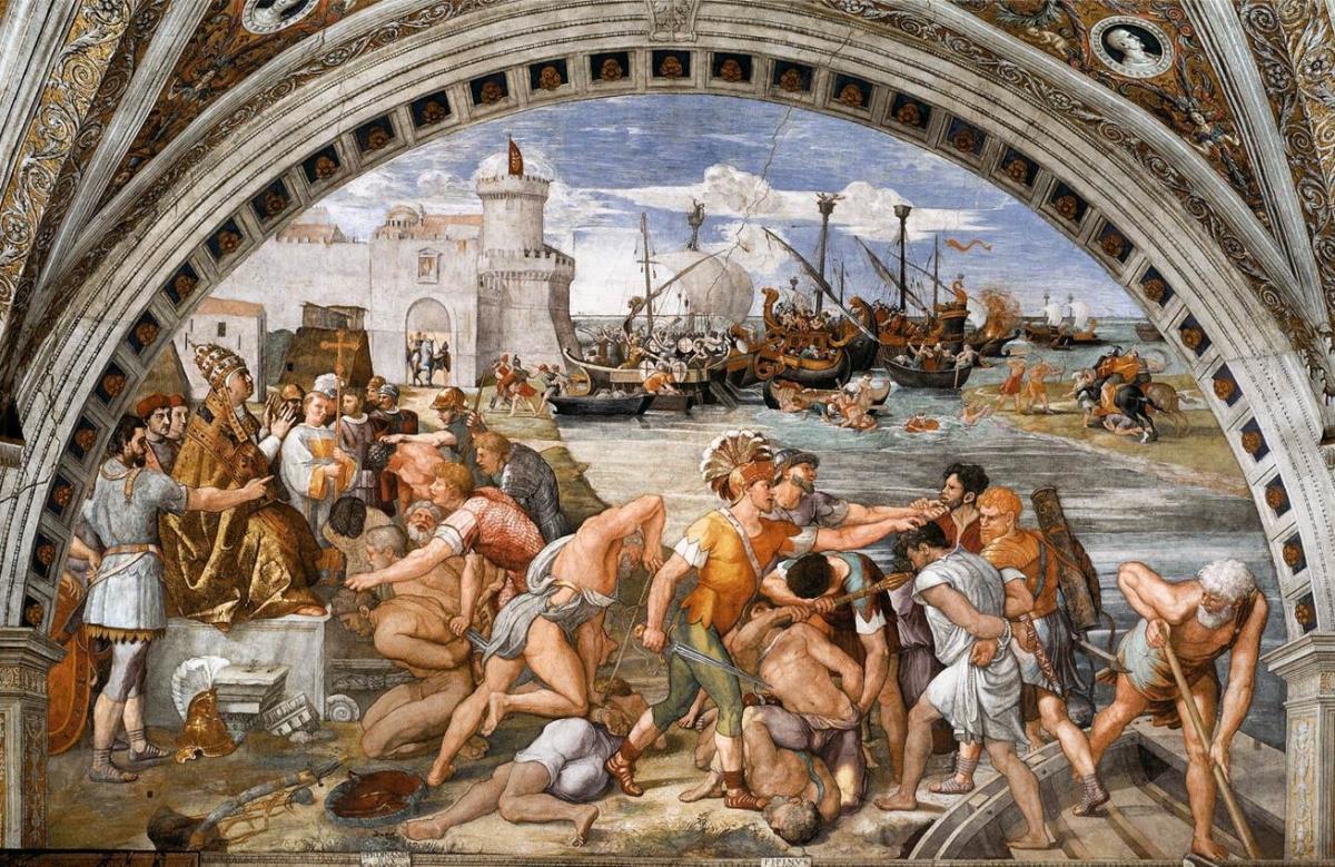 Genova e pisa lo scontro finale la battaglia della for Immagini della dispensa del maggiordomo