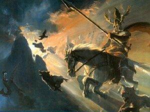 Odin-Sleipnir-caccia-selvaggia