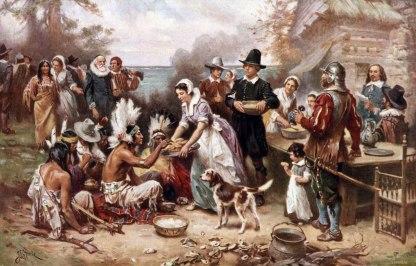 thanksgiving-giorno-del-ringraziamento-padri-pellegrini-e-nativi-americani
