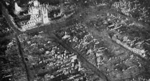 La devastazione nella città di Ypres