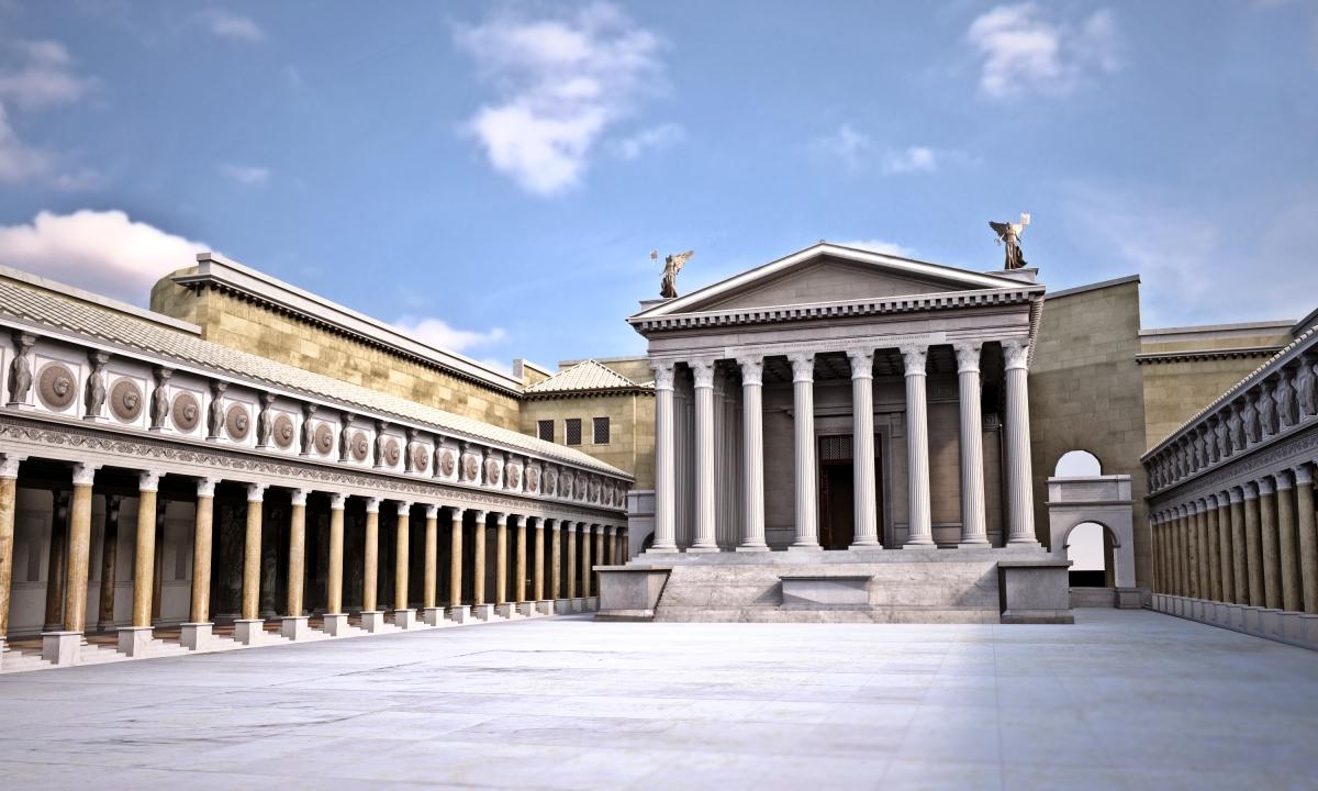 Augusto trasform veramente roma in una citt di marmo for Augusto roma