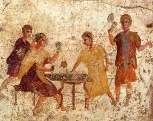 gioco dei dadi romano