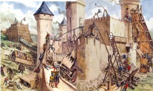 assedio medievale