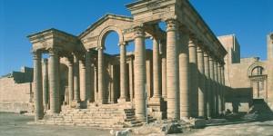Iraq - Hatra - Marn Temple, 80 a.c.