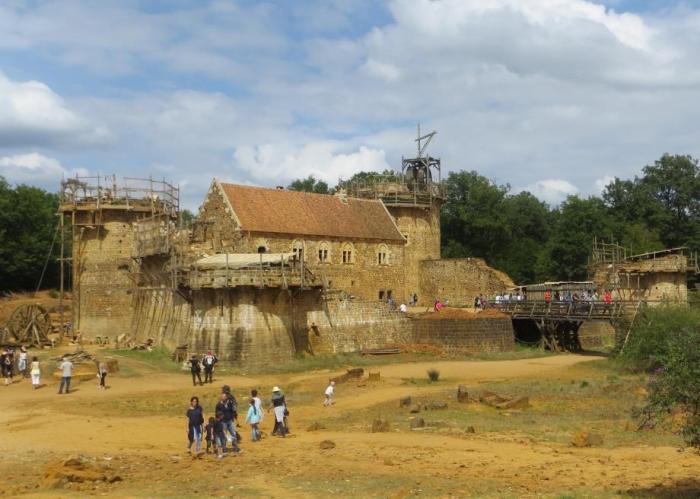 ricostruzione castello francese