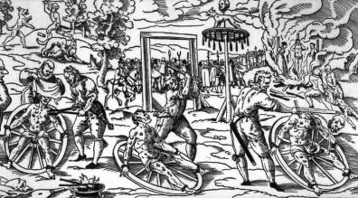 tortura della ruota