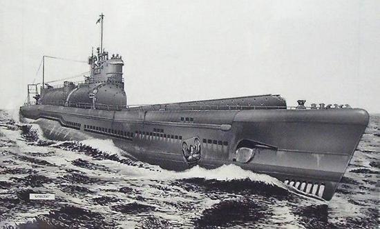 sottomarino segreto tedesco