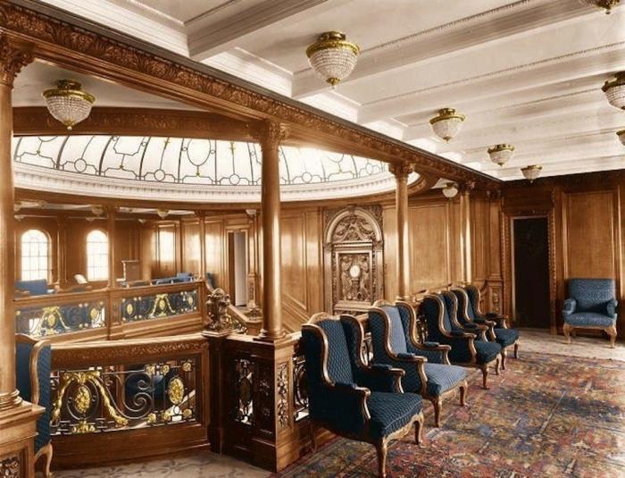 Il titanic a colori amanti della storia for Colori per la sala