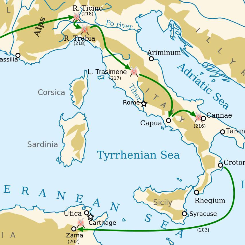 L'impero romano: ascesa e declino in 30 mappe