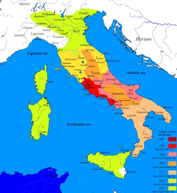 Cartina Italia Anno 500.L Impero Romano Ascesa E Declino In 30 Mappe Amanti Della Storia
