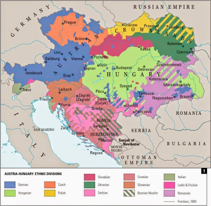 Mappa etnica austria
