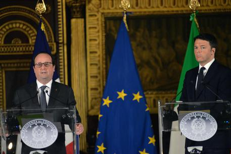 Renzi hosts Hollande in Venice for Italo-French summit