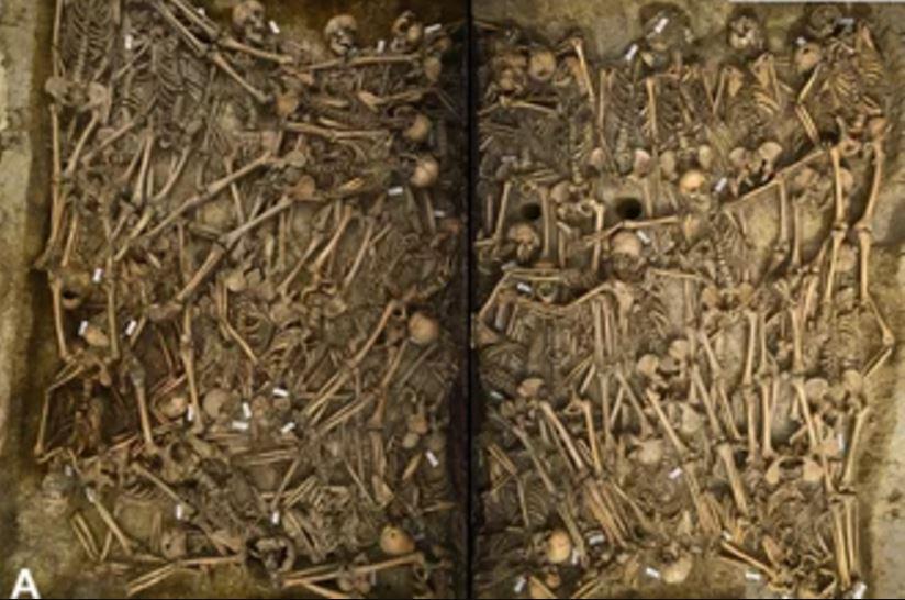 Guerra dei Trent'Anni, le foto di una tomba dopo 400 anni
