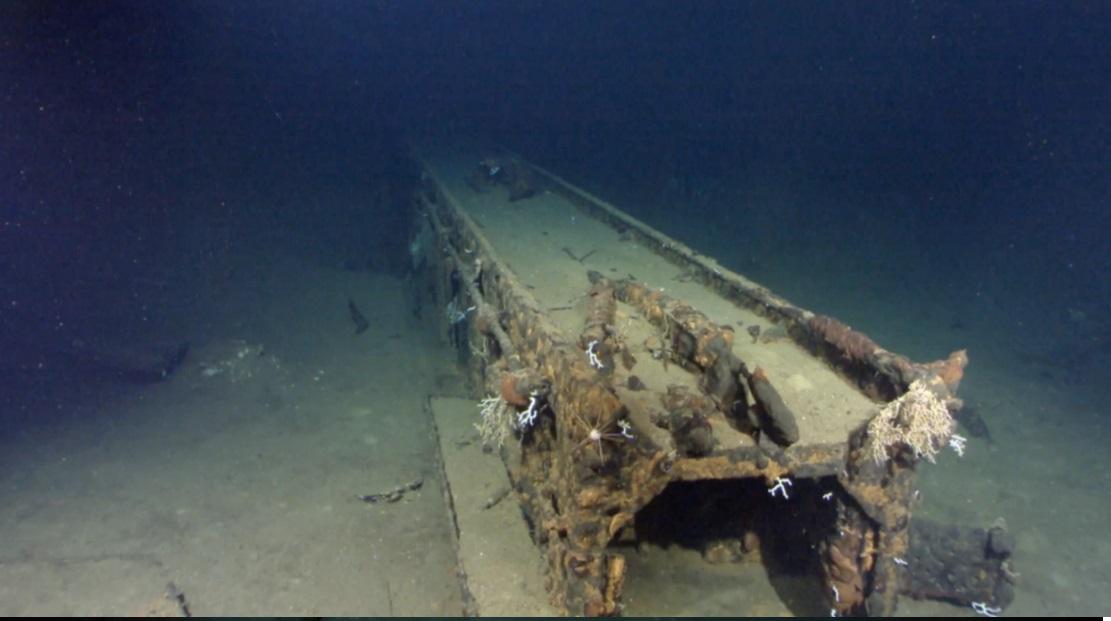 Le foto del cacciatorpediniere italiano affondato nel 1940 nel Mediterraneo